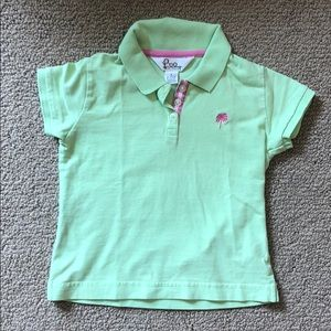 Lilly Pulitzer Girls Polo Shirt